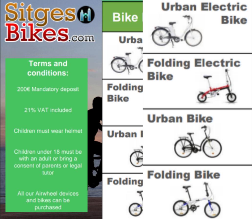 Sitges Barcelona Bike Bici Bikes Bicis Bicycles